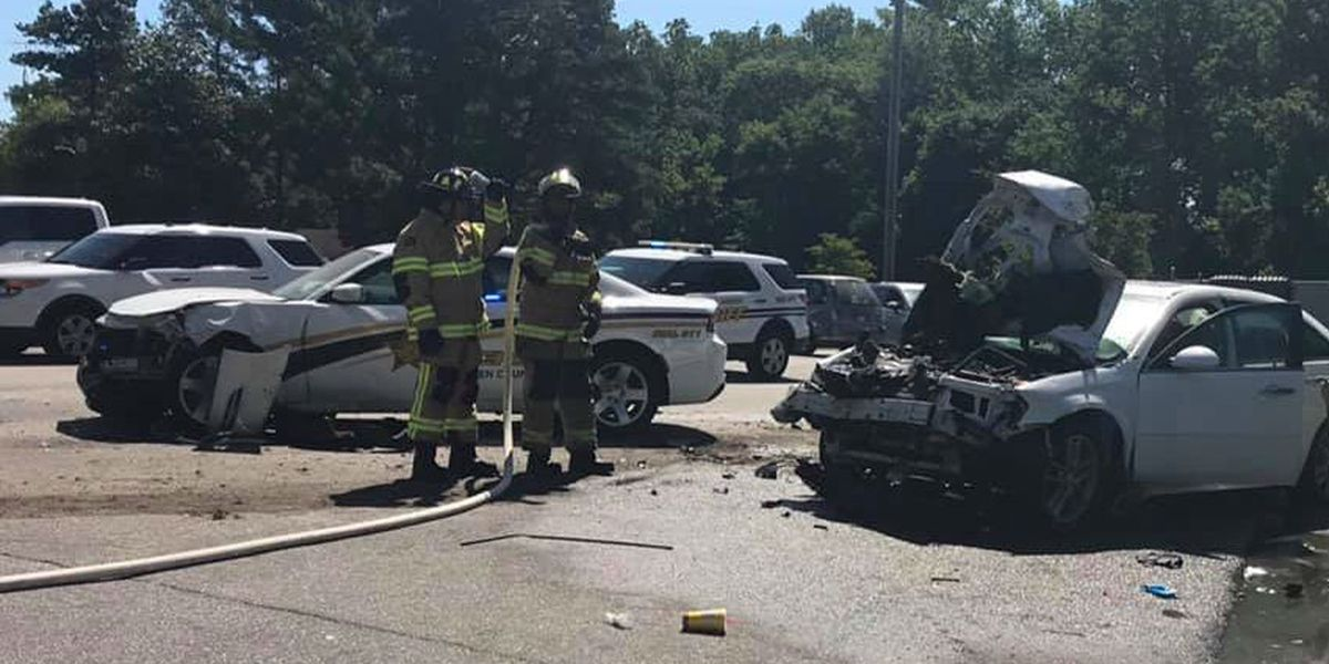 1 arrested, 1 sought after Bladen Co. chase ends in neighboring Robeson County