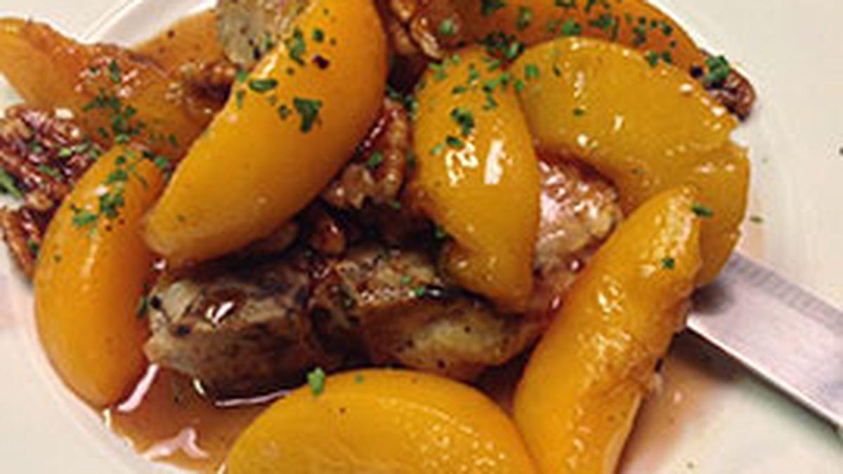 Highway 6: Freddie's of Kure Beach shares recipe for peach pecan pork chops