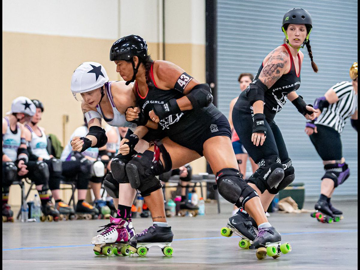 Cape Fear Roller Girls defeat Little Rock in Fayetteville