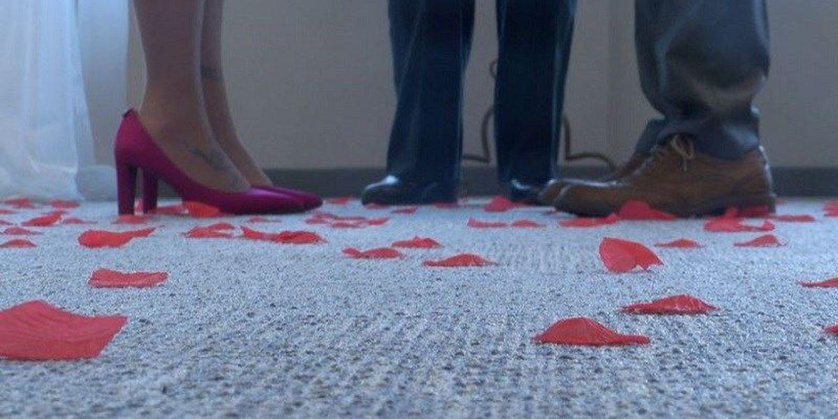 Register of Deeds hosts free Valentine's Day weddings