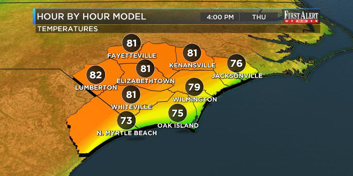 First Alert Forecast: temps headed way up! ...until...