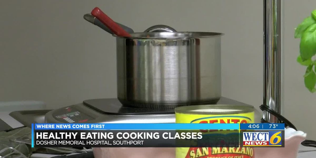 Learn healthy cooking habits through guest chef program at Dosher Memorial Hospital