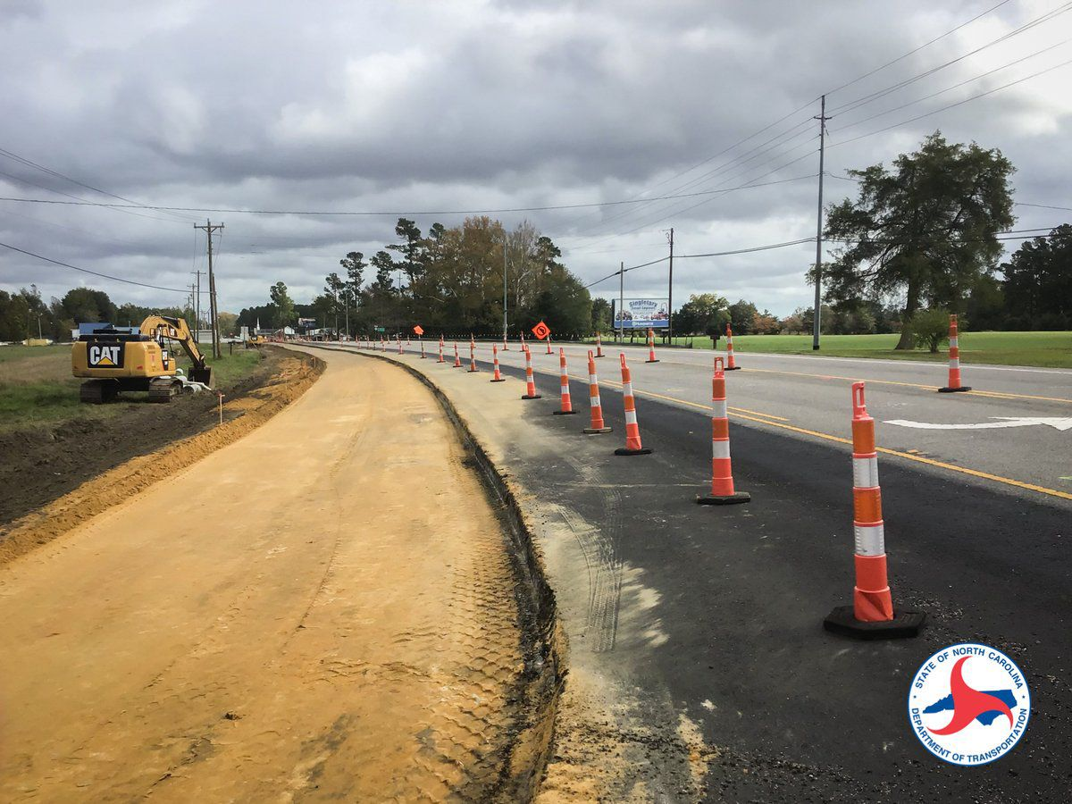NCDOT: Work on busy Columbus County intersection expected to finish in December