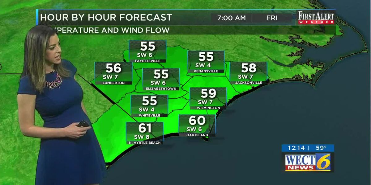 Your First Alert Forecast from Thu. afternoon, Mar. 26, 2020