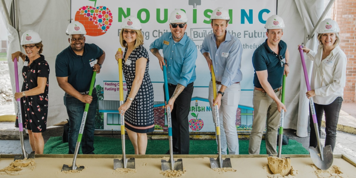 NourishNC breaks ground on new 12,000 square foot facility