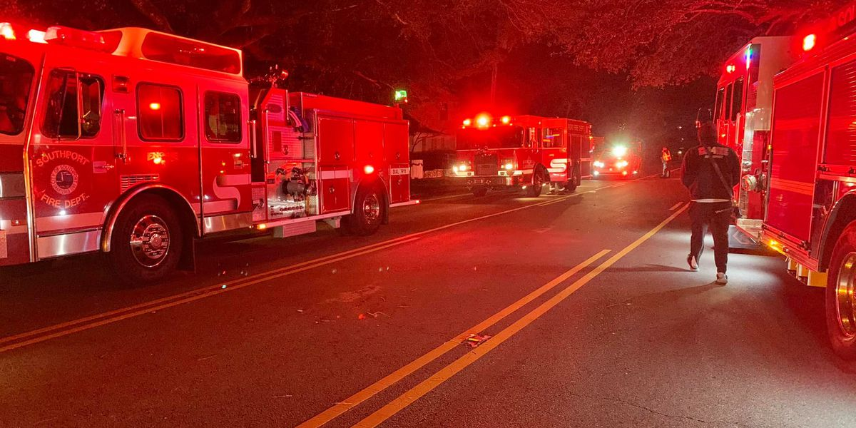 False alarm: heating unit smell leads to large fire department response in Southport