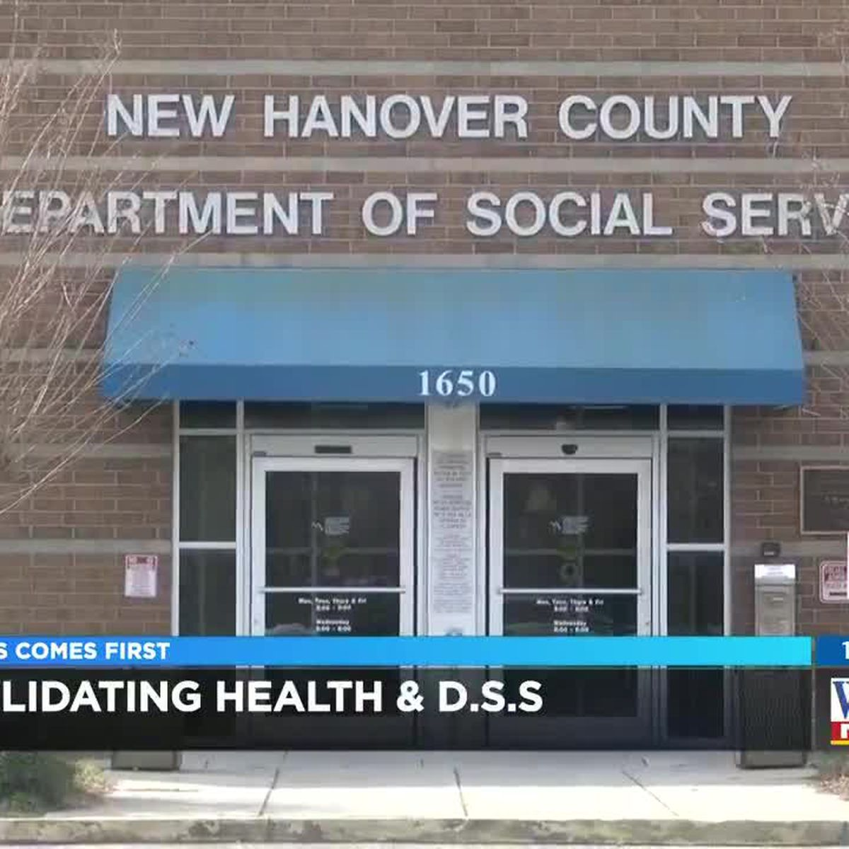 New Hanover commissioners vote to consolidate Public Health, Social Services departments