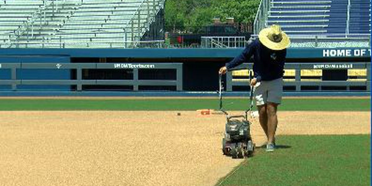 Work continues keeps up with athletic fields at UNCW