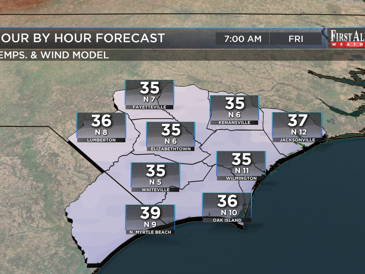 First Alert Forecast: winter weather set to strike back. . .