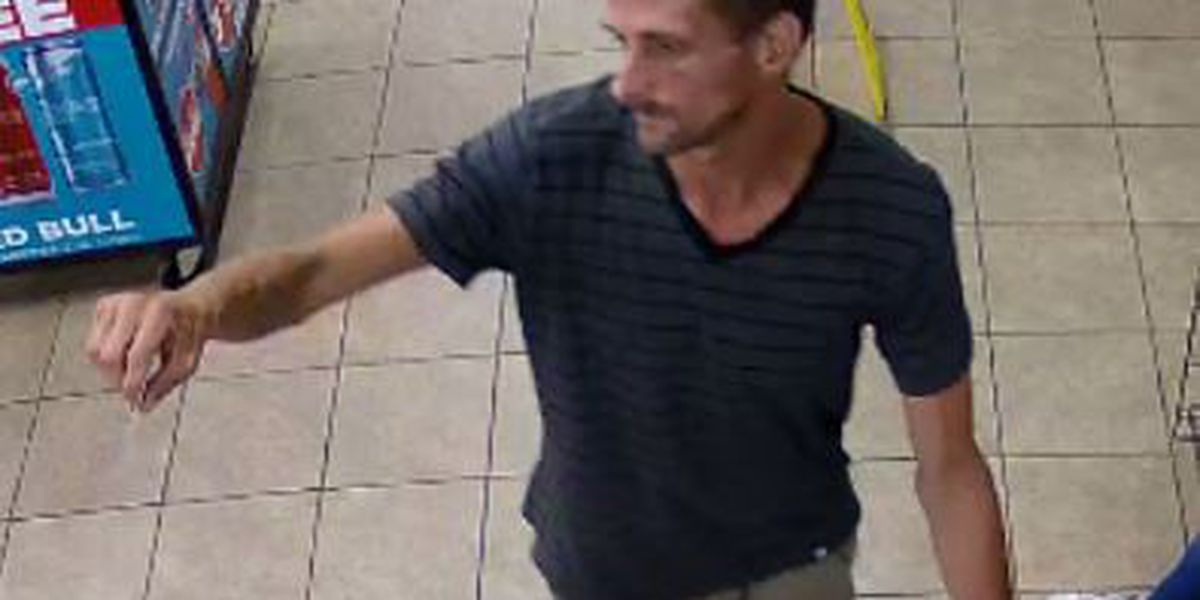 Sheriff's Office looking for suspect in convenience store larceny