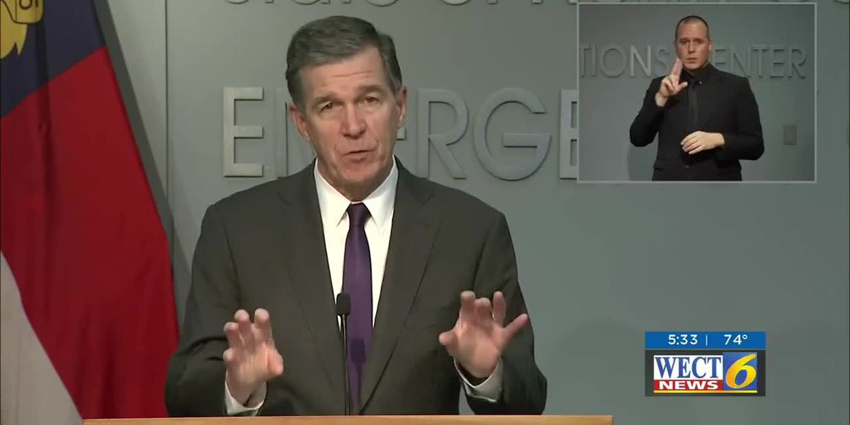 Governor Cooper updated the State's COVID-19 pandemic status