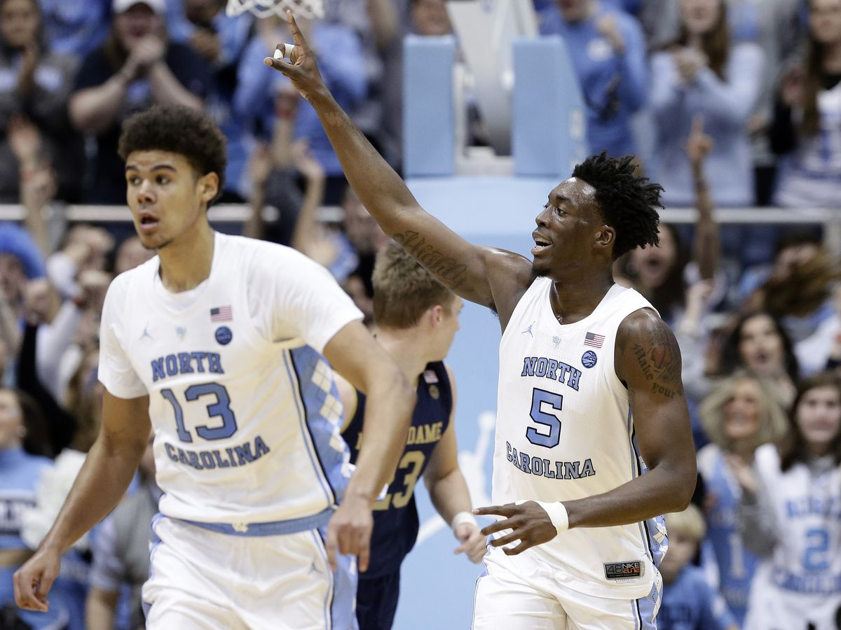 Little, No. 13 North Carolina hold off Notre Dame