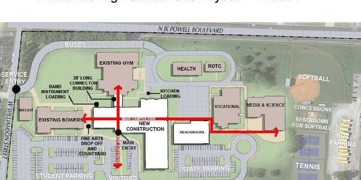 Commissioners approve Whiteville City Schools construction plans