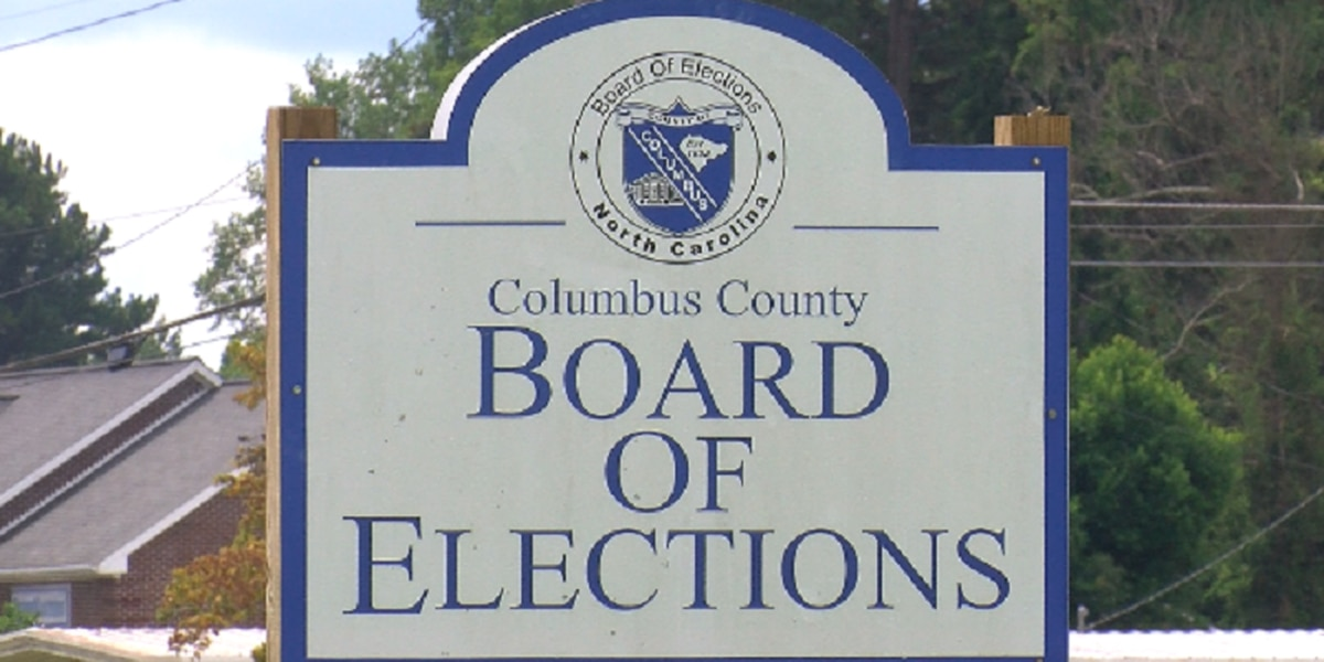Columbus County Board of Elections closes early voting sites