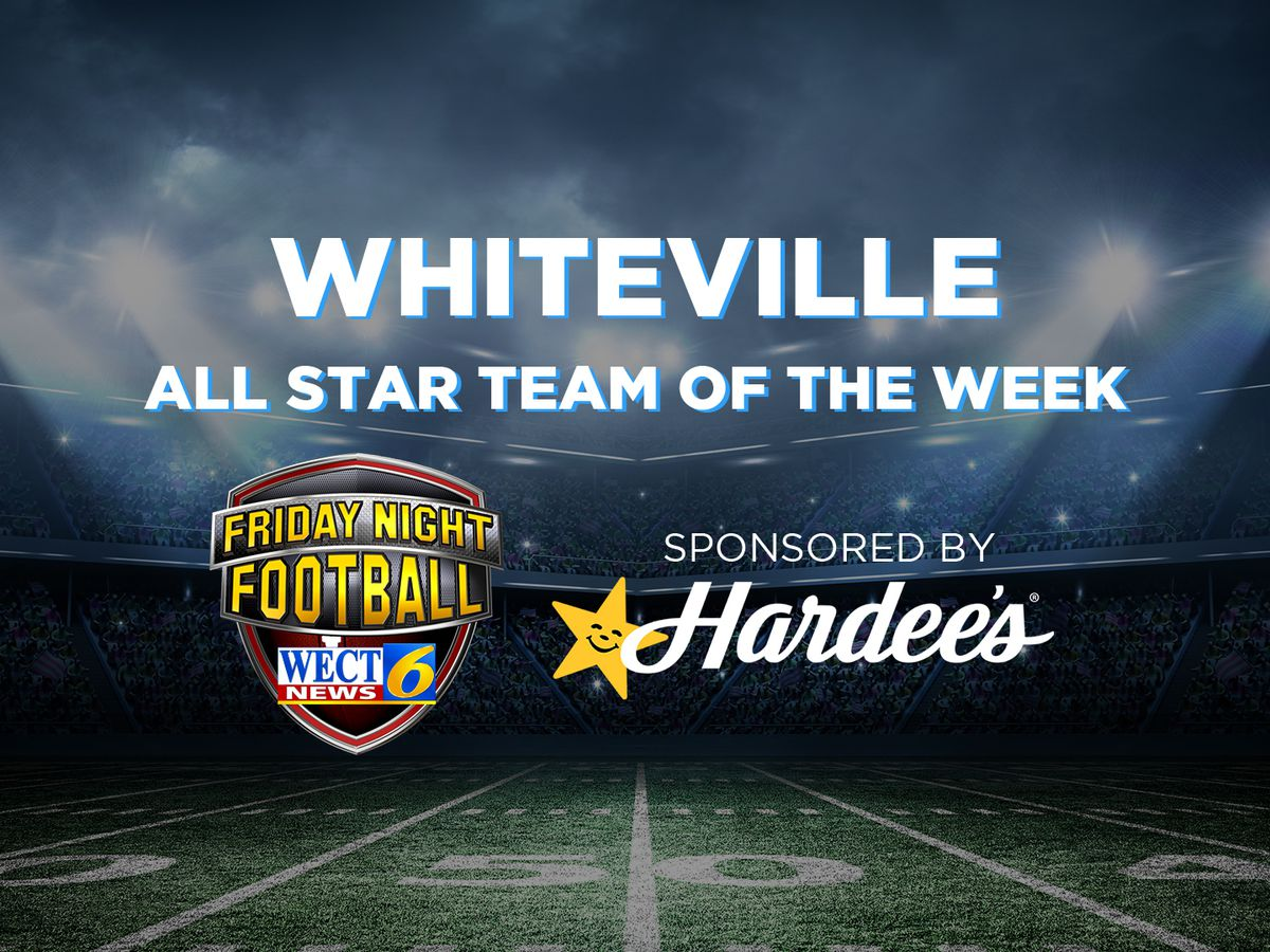 Whiteville named WECT All Star team of the week