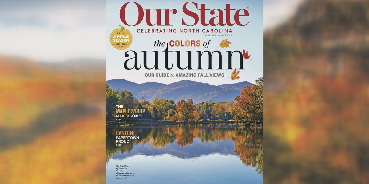Find all the fall feels in October's 'Our State'