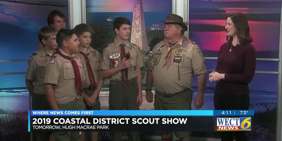 Scouts show off skills at weekend event