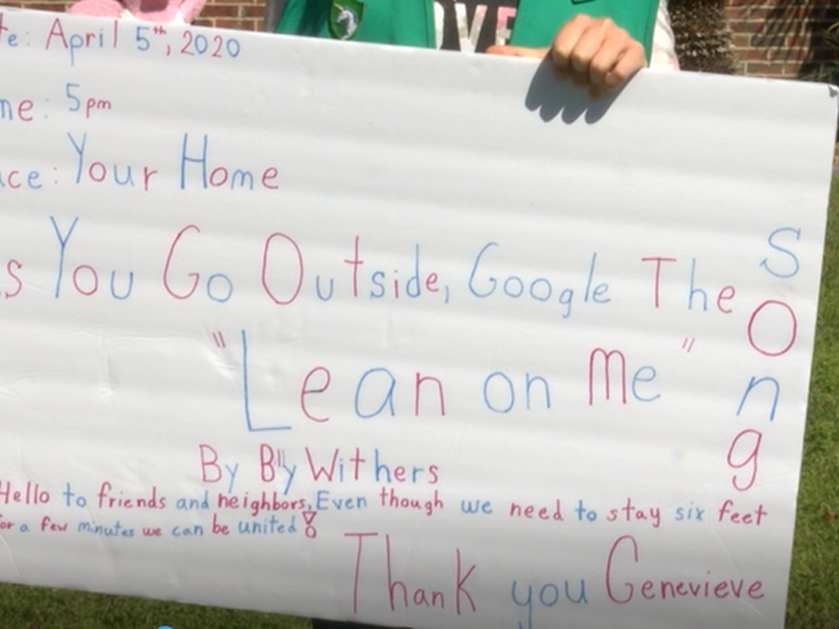 """Girl Scout hopes to bring the country together by singing """"Lean on Me"""""""