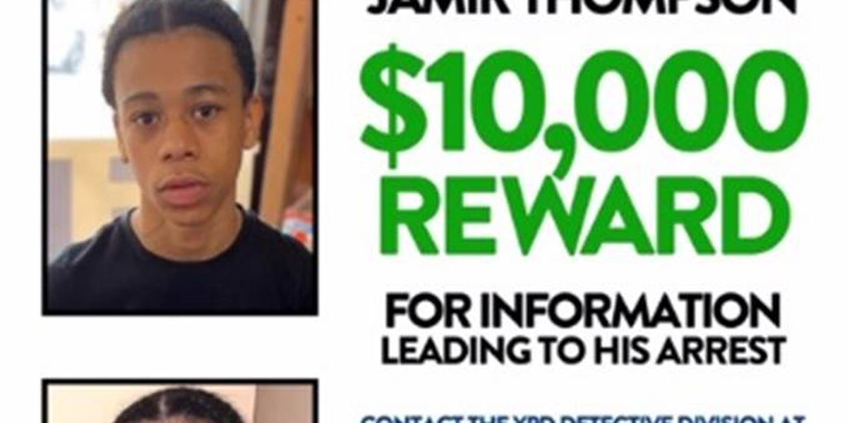 Sheriff's Office: 15-year-old wanted for murder arrested in N.Y.