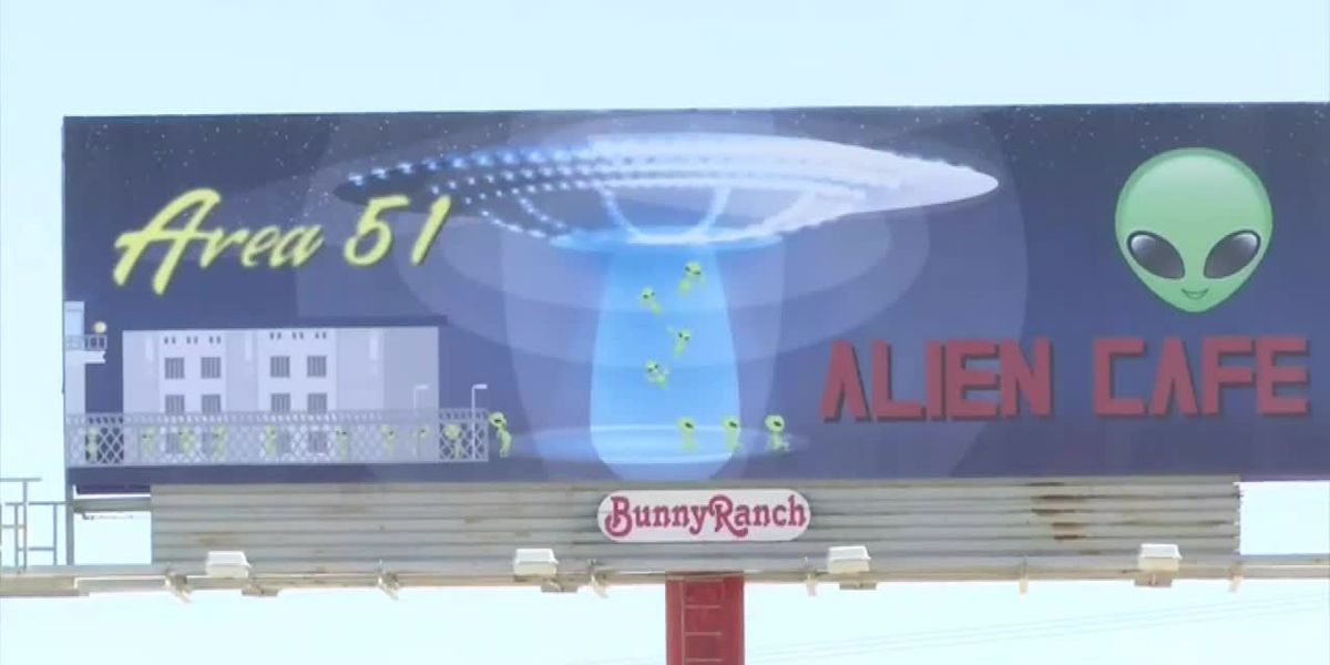 Law Enforcement preps for Area 51 'storm'