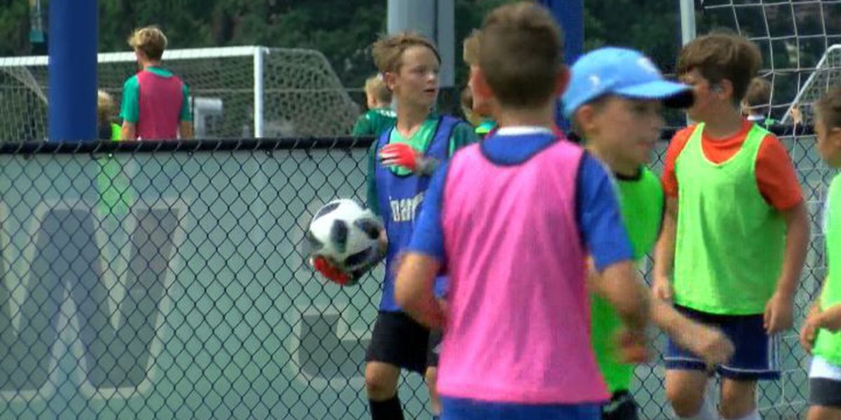 UNCW socccer campers excited about 2026 World Cup