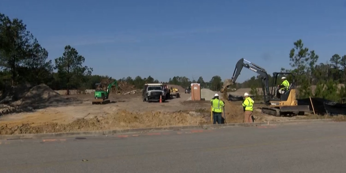 Land cleared for apartment complex near Codington Elementary