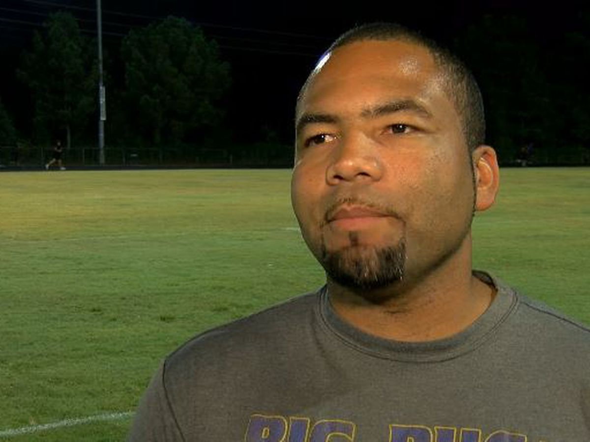 Laney football coach steps down