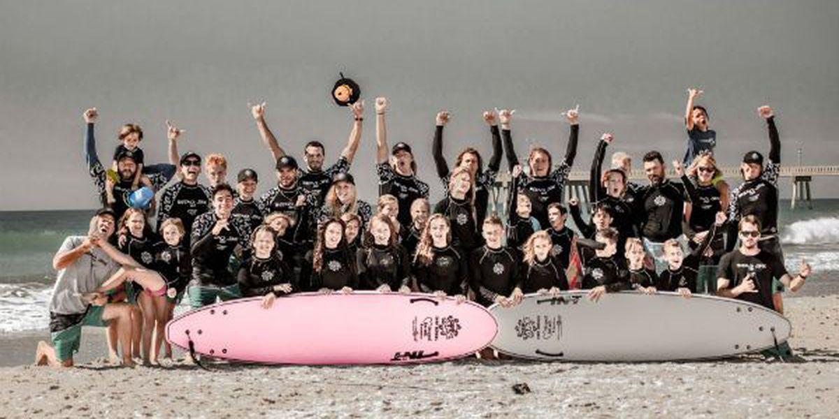 Indo Jax Surf School to host 1st Annual Childhood Cancer Surf Camp