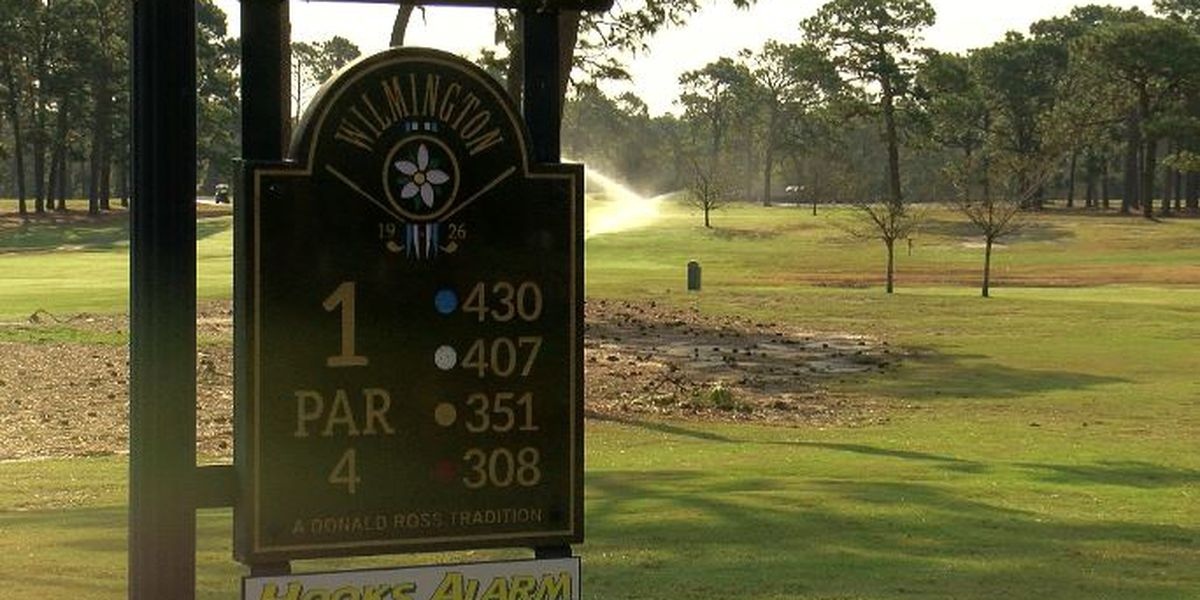 Wilmington Municipal Golf Course reopens for the first time since Hurricane Florence