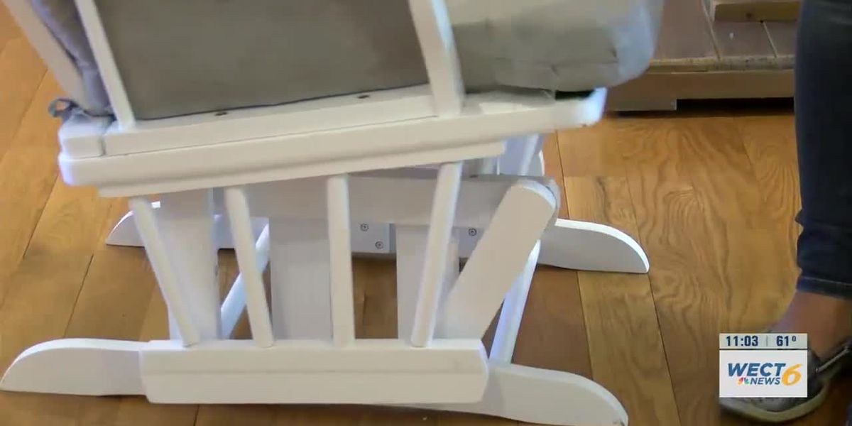Wilmington parents create patented safety product for glider chairs