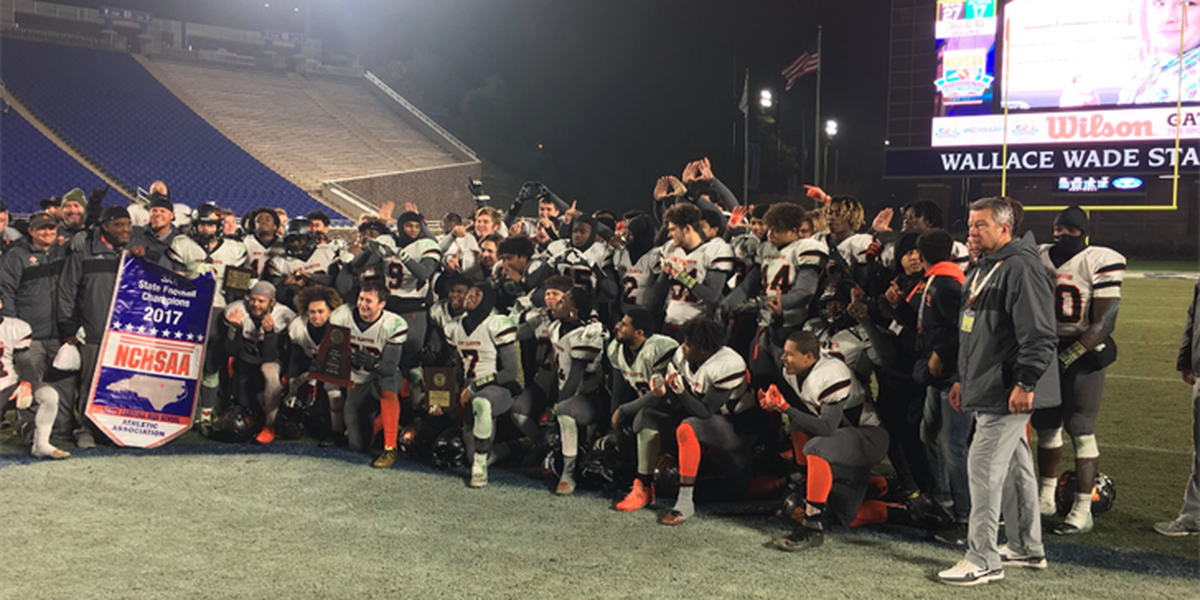 New Hanover football wins first state title since 1951