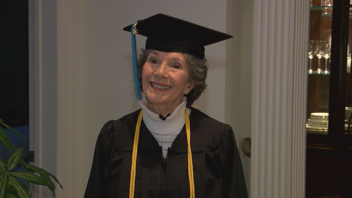 80-year-old to receive college degree from UNCW this weekend