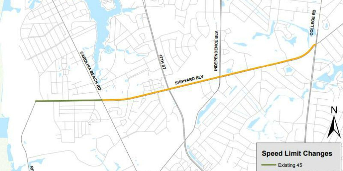 City council approves lowering speed limits on parts of Shipyard Blvd., Kerr Avenue