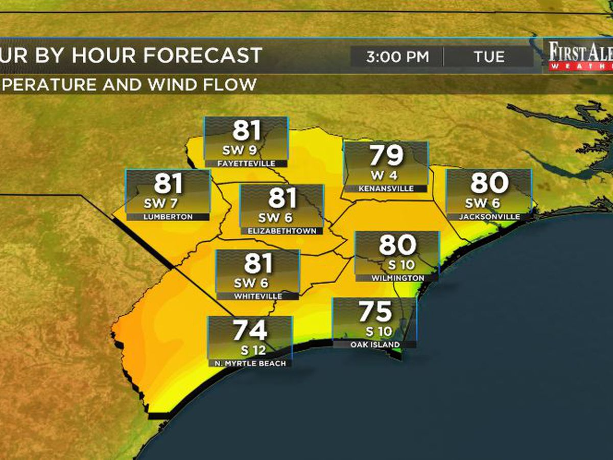 First Alert Forecast: continued sunshine, increasing warmth