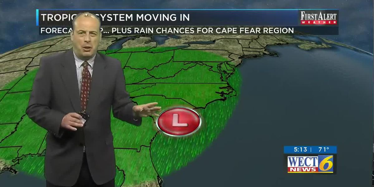 Your First Alert Forecast for Tuesday evening May 26, 2020