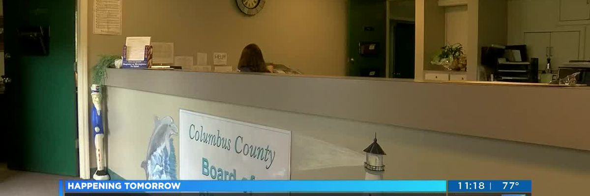 Precautions in place for Tuesday's GOP primary in Columbus County