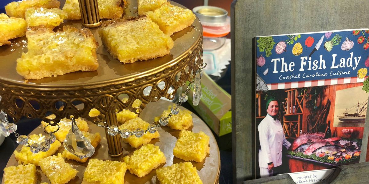 Chef Marlene Hieronymus shares her recipe for Mimi's Lemon Squares