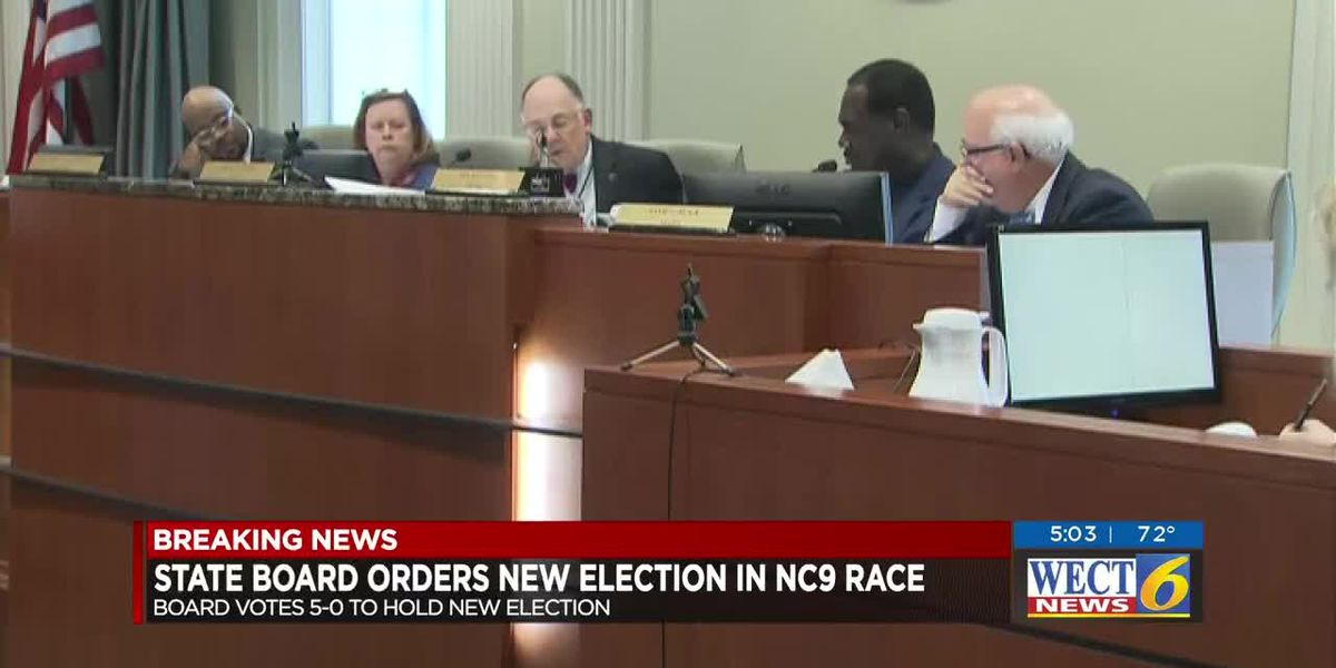 NC9 hearing day 4: State board unanimously votes to hold new election