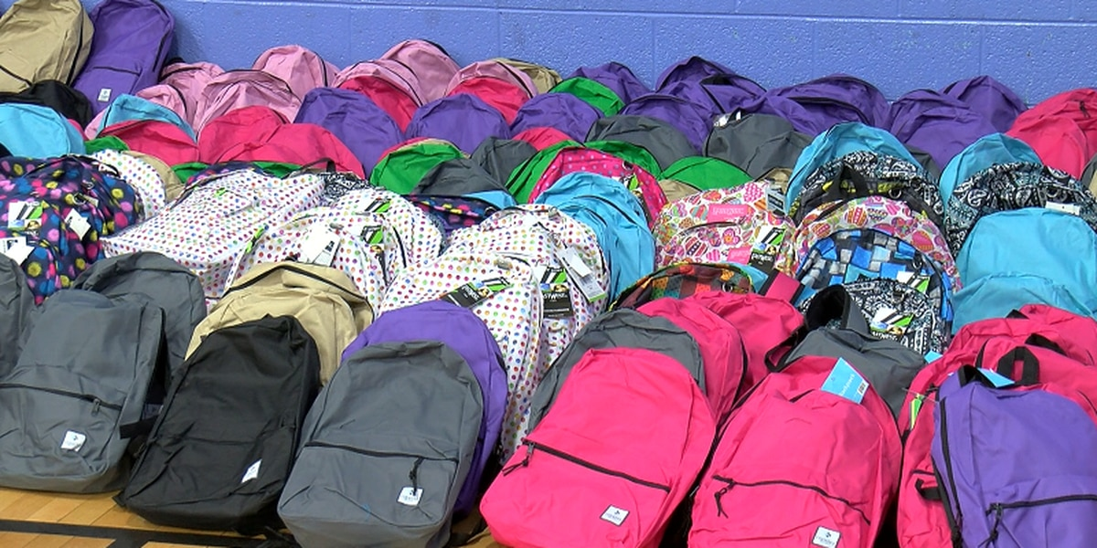 Here's where you can get a free backpack stuffed with school supplies in Wilmington