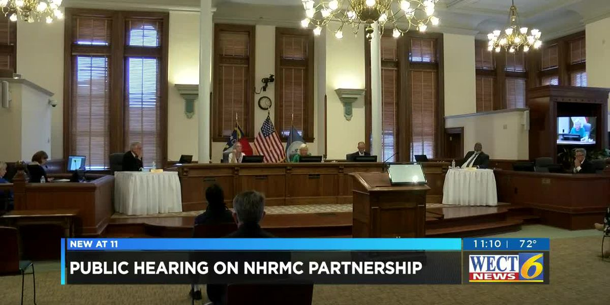 New Hanover County Commissioners hold final public forum for sale of NHRMC