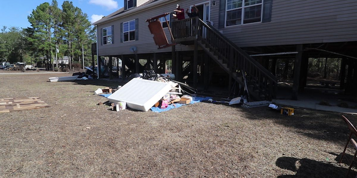 Pender County neighborhood devastated by Florence now preps for Michael