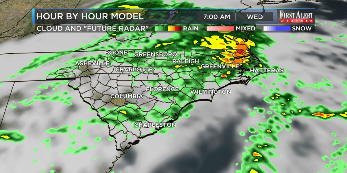 First Alert Forecast: showery, but some 0% rain chance days are in sight