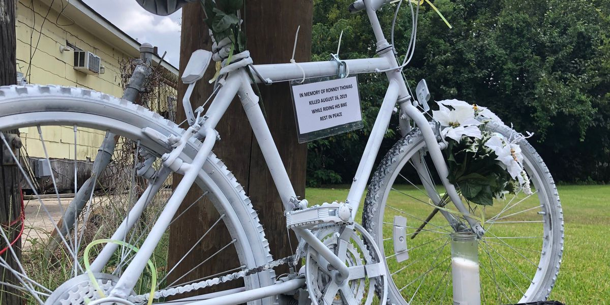 Ghost bike dedication serves as memorial for Wilmington cyclist's death
