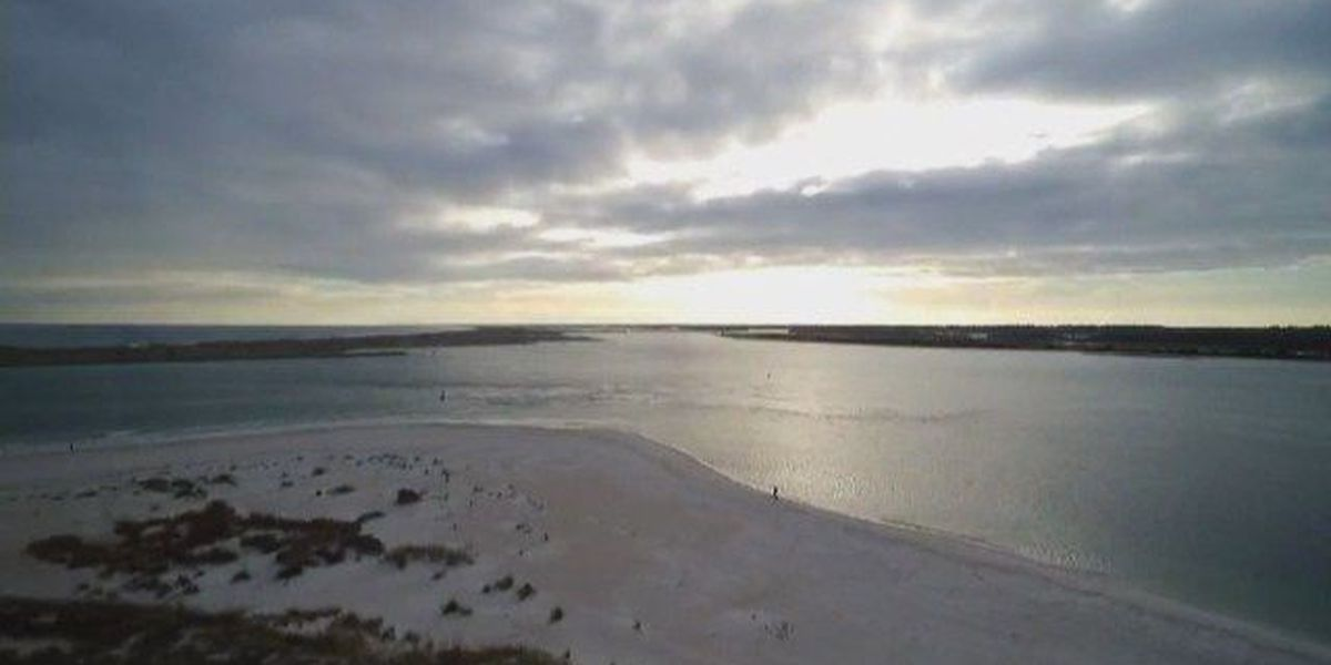 SKY TRACKER: South end of Wrightsville Beach