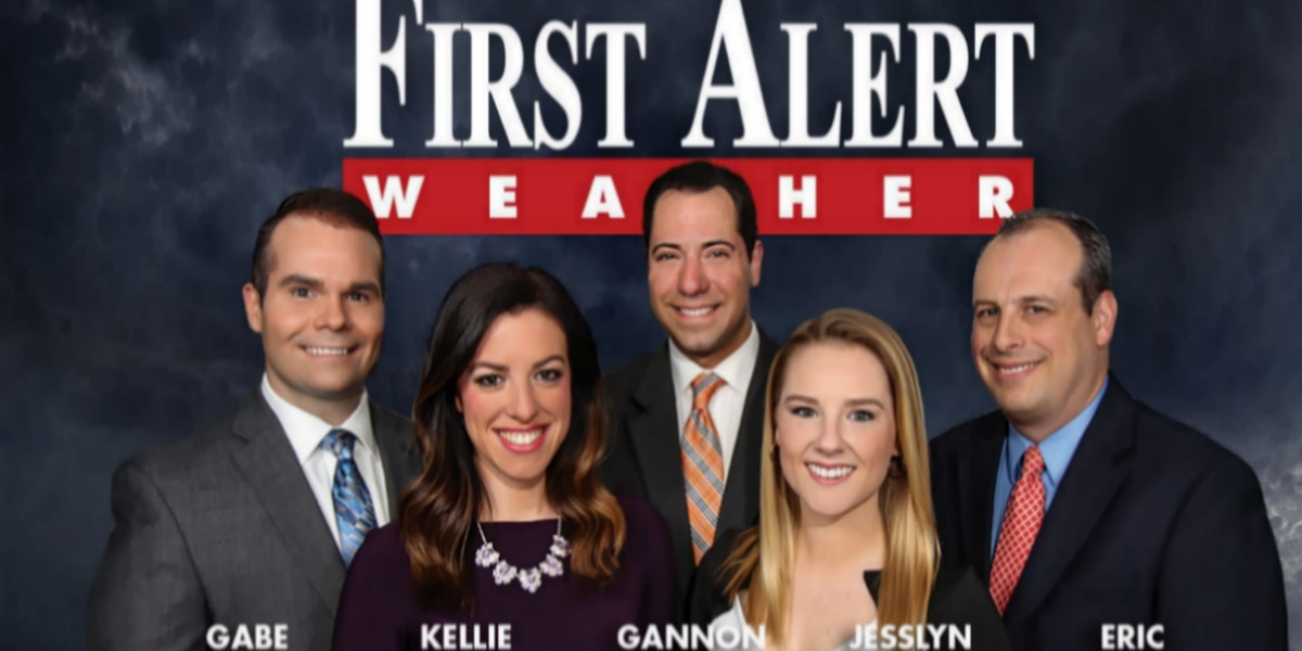 First Alert Forecast: warmth, possibly record warmth, to stay for a few days