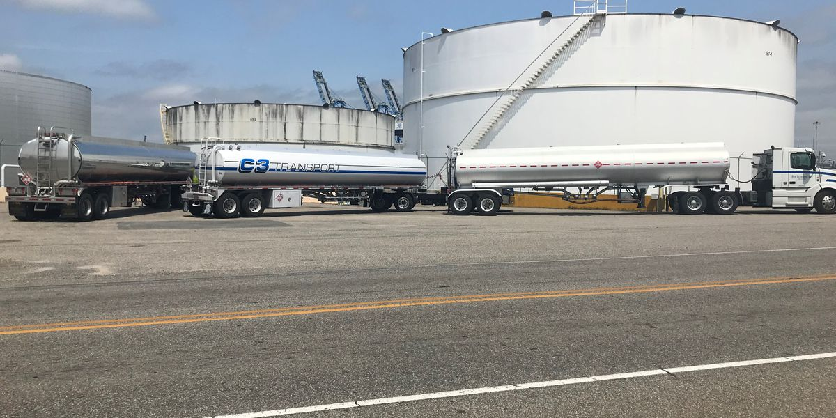 TRAFFIC ALERT: Wilmington drivers urged to avoid roads near port as tanker trucks line up to be filled