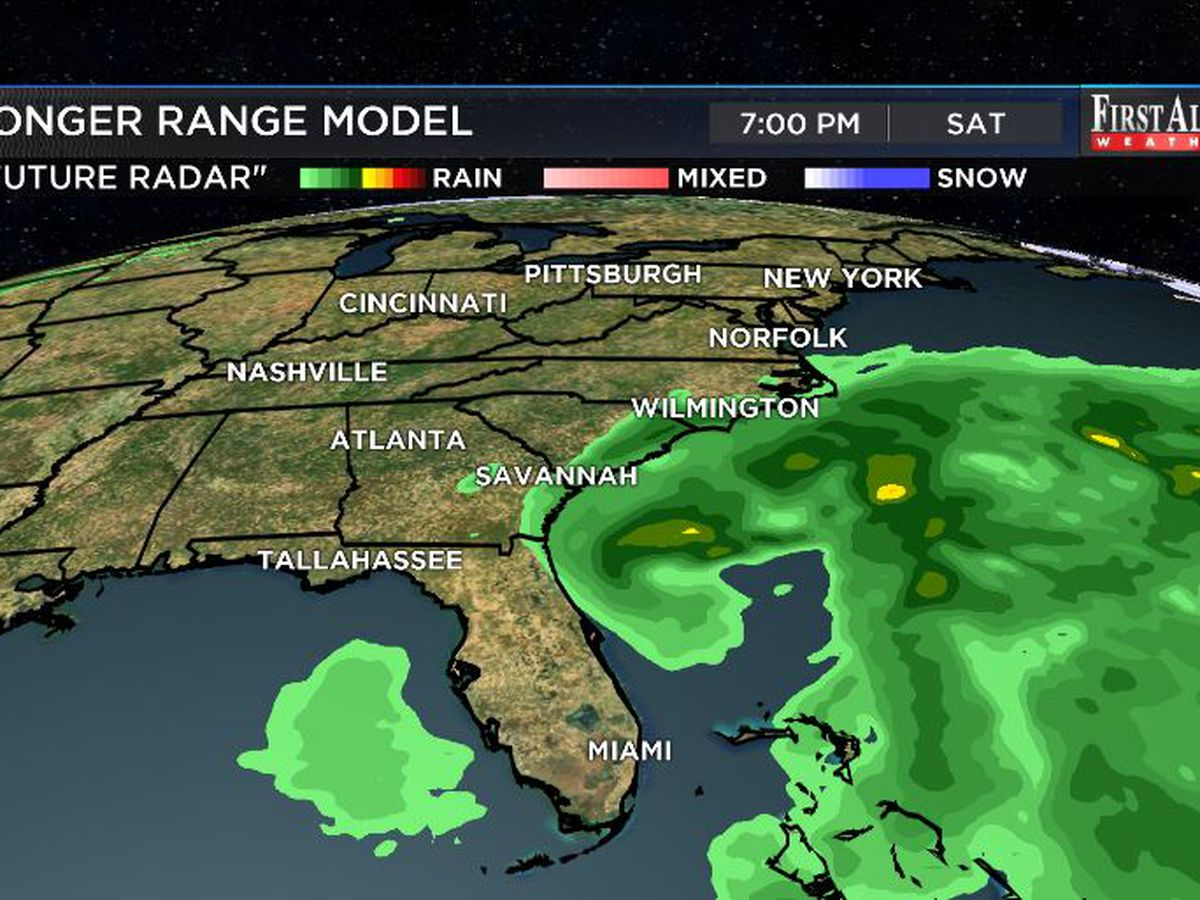 First Alert Forecast: rain chances to rise heading into the weekend