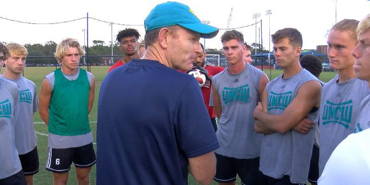 UNCW men's soccer team takes home CAA honors
