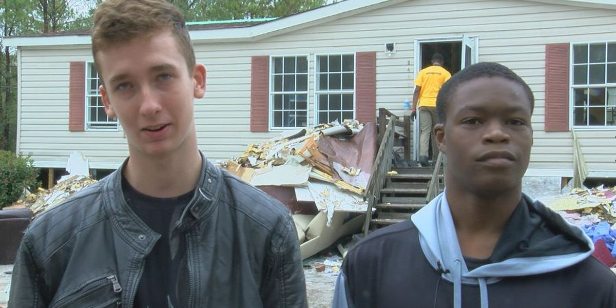 Pender County foster brothers who lost home in Florence extra grateful for each other this Thanksgiving