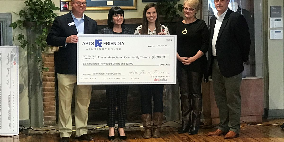 Arts Friendly Foundation gives over $4,000 to local nonprofits